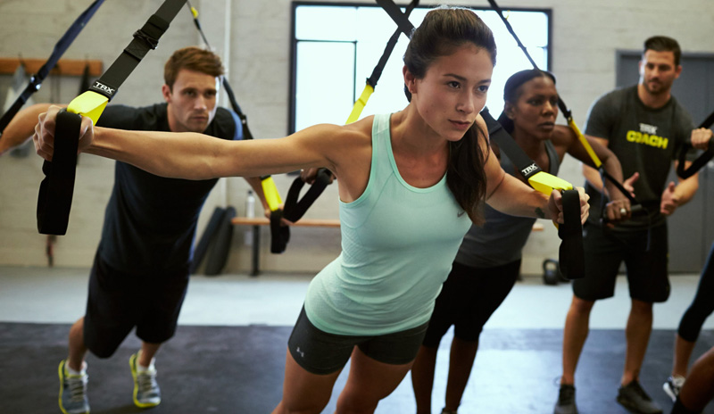 My favourite TRX exercises