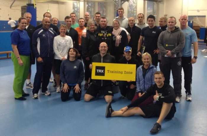 Teaching TRX RIP Instructor Certification at RAF Cranwell